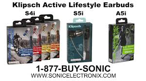 S4i Rugged In Ear Headphones Klipsch S4i S5i U0026 A5i Active Lifestyle Headphones Workout In