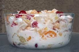 fruit salad yogurt with fruit mix strawberries mango melon