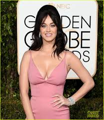 bump it katy pery completes golden globes hair with a bump it photo