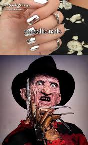 Freddy Krueger Meme - metallic nails instagram quote rebuttals hipster edits know