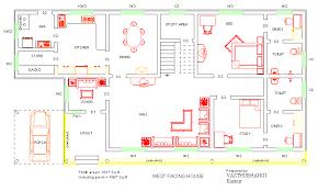 Home Design Plans With Vastu West Facing House Vastu Plan Home Design