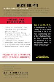 extreme fat smash diet with more than 75 recipes ian k smith