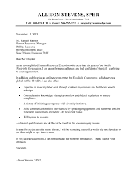 Human Resource Resumes Human Resources Associate Cover Letter