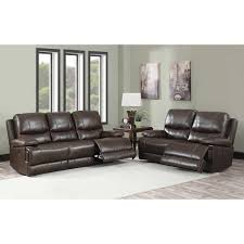 Wholesale Leather Sofa by Maren 2 Piece Top Grain Leather Reclining Set