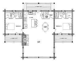 small log house floor plans hahnow