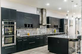 black kitchen cabinets with marble countertops kitchen image galleries for inspiration