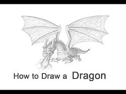 how to draw a dragon flying youtube