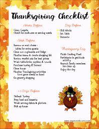 printable thanksgiving dinner checklist and recipes last minute thanksgiving ideas thanksgiving thanksgiving ideas