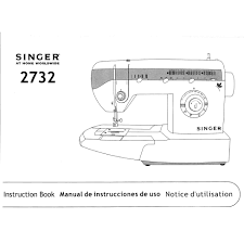 instruction manual singer 2732 sewing parts online