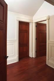 Painted Interior Doors Distinguished Interior Door Casing Custom Panel Mahogany Interior