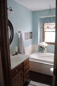 bathroom paint colors with oak trim pinterdor pinterest
