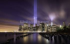 new york tribute lights 9 11 wallpaper wall mural wallsauce usa new york tribute lights 9 11 wall mural photo wallpaper