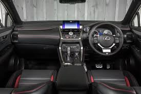 lexus nx black red interior seattle lexus nx 300h f sport 31 toyota uk media site