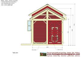 Free Barn Plans Cb200 Combo Plans Chicken Coop Plans Construction Garden Sheds
