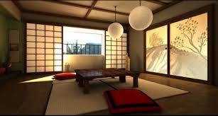 Japaneseinspired Dining Area Love The Back Lit Screen Beautiful - Japanese home furniture