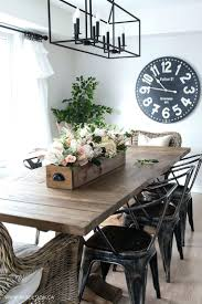 elegant decor dining room modern furnituredecorate small no diy faux floral arrangement feminine yet rustic crate farmhouse dining roomceiling designs for small room decorating