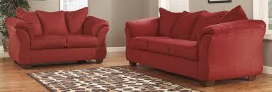 Chairs Ashley Furniture Darcy Salsa Living Room Set Club Chairs