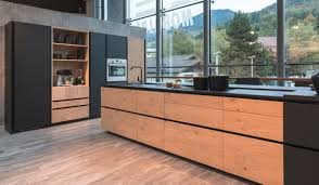 Cuisine Kadral by Beautiful Cuisine Noir Mat Et Bois Gallery Home Decorating Ideas