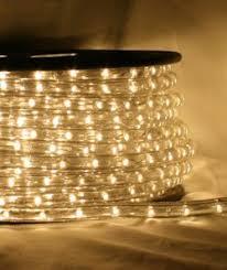 Outdoor Led Rope Lighting 120v Cbconcept 120vlr66ft Ww Warm White 65 110v 120v