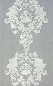 Damask Area Rugs Contemporary Lt Grey Cotton U0026 Wool Damask Vst25 Area Rug Carpet