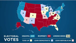 Map Of Red And Blue States by Paul Ryan Meh