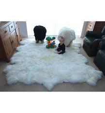 Lamb Skin Rugs Large Sheepskin Rug Porch U0026 Living Room