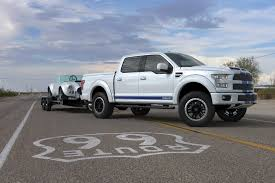 truck ford blue shelby brings the blue thunder to sema with 700hp f 150 truck