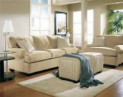 Ivory Leather Loveseat Minimalis Living Room Design Beige Wall Paint Color Ivory Faux