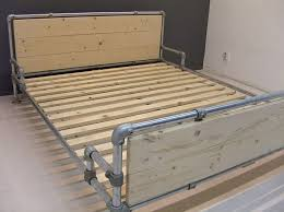 Homemade Bed Frames For Sale Best 25 Industrial Bed Frame Ideas On Pinterest Pipe Bed