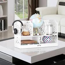 Desk Organizer Shelf by 2 Tier Desk Organizer Wpc Desktop Office Organizer Holder Storage