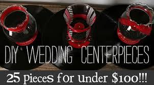 get ready set go diy wedding centerpieces for under 100