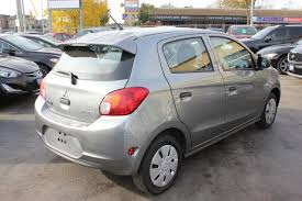 mitsubishi mirage hatchback 2015 used 2015 mitsubishi mirage es bluetooth for sale in brampton