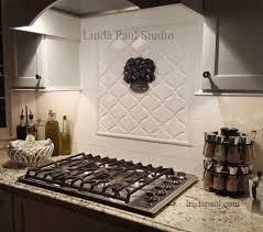 kitchen subway tile backsplash pictures decorative mosaic gray
