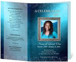 doc 650502 burial ceremony program u2013 memorial service program