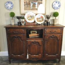 French Country Buffet And Hutch by Antique French Country Buffet Sideboard Server 3 Door Carved Oak