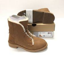 s ugg lace up boots s shoes ugg quincy lace up suede combat booties 1012359