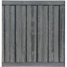 composite fence panels composite fencing the home depot