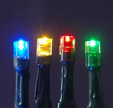 multi colored solar lights with 100 bulbs novelty