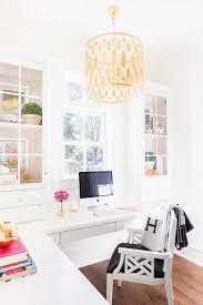 Pink Glass Desk Alyssa Rosenheck L Shaped Floating Desk With Glass Cabinets