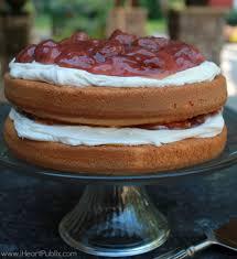sunshine strawberry french vanilla cake i heart publix