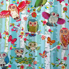 owl christmas wrapping paper the finch boutique for bird owls in trees gift
