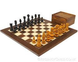 ornate chessmen and board combinations the regency chess company