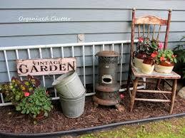 best 25 garden junk ideas on primitive garden decor