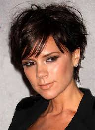 image result for short sassy haircuts for thin hair round face