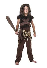 Amazon Boys Halloween Costumes Amazon Child Caveman Costume Clothing