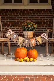 Homemade Fall Decor - 85 pretty autumn porch décor ideas digsdigs