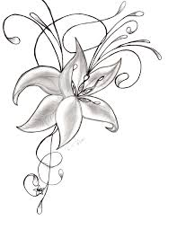 gousicteco orchid drawing tattoo images