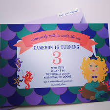 scenic mermaid pool party invitations birthday party dresses