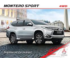 mitsubishi pajero sport 2018 mitsubishi motors philippines adds more features to montero sport