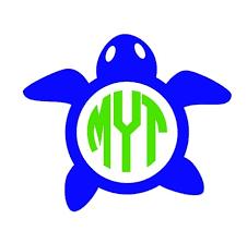 monogram decals turtle monogram decal